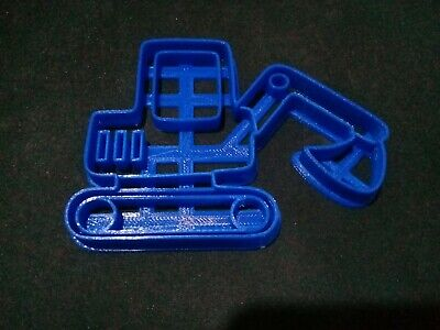 £4.99 • Buy Excavator Cookie Pastry Biscuit Cutter Icing Fondant Baking Clay Truck Dough JCB