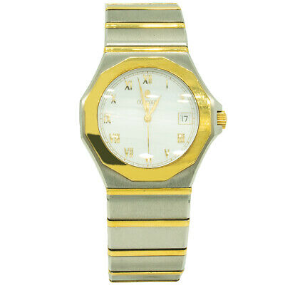 $1745 • Buy Concord 0300847 Mariner 40mm Two Toned Gold White Dial Watch