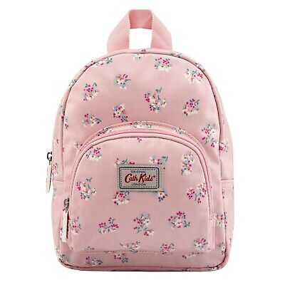 Cath Kidston Kids Woodstock Ditsy Mini Rucksack, Warm Pink Oilcloth UK Stock • 12.99£