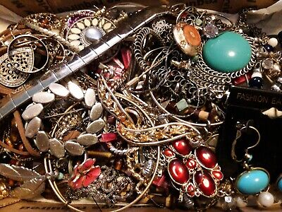 $ CDN19.60 • Buy #25 Vintage To Now Estate Find Jewelry Lot Junk Drawer Unsearched Untested Wear