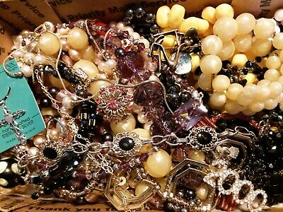 $ CDN19.60 • Buy #29 Vintage To Now Estate Find Jewelry Lot Junk Drawer Unsearched Untested Wear