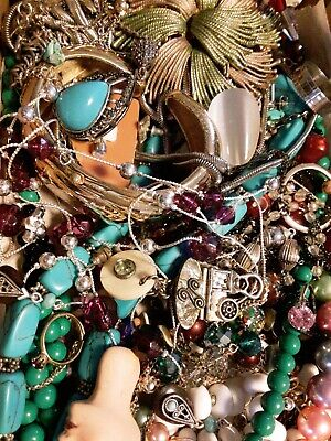 $ CDN19.60 • Buy #30 Vintage To Now Estate Find Jewelry Lot Junk Drawer Unsearched Untested Wear