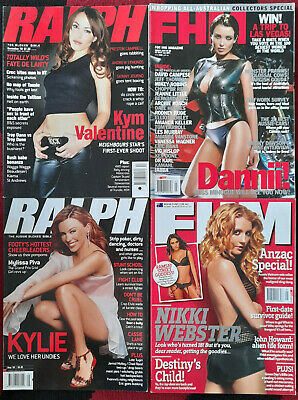 AU30 • Buy Fhm & Ralph Magazines - 4 In Lot