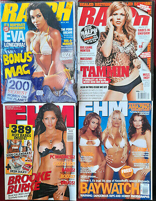 AU30 • Buy Ralph & Fhm Magazines - 4 In Lot