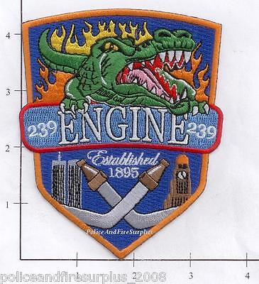 AU5.23 • Buy New York City NY Fire Dept Engine 239 Patch V4