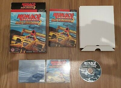 Monaco Grand Prix 2: Racing Simulation. Big Box PC Game. CD-ROM Windows 95/98 • 10£