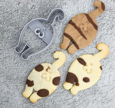 £4.99 • Buy Cat Butt Kitty Kitten Cookie Pastry Biscuit Cutter Icing Fondant Clay Kitchen