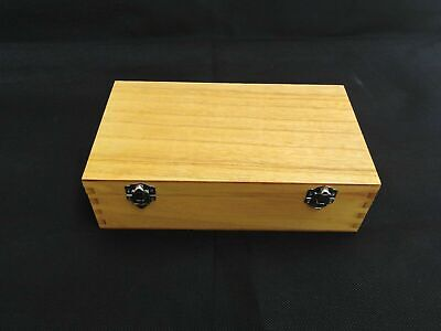 Large Wooden Coated Storage Box Display Accessories Storage Box New  • 5.99£