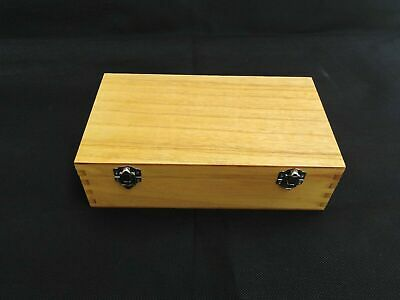 Large Wooden Coated Storage Box Display Accessories Storage Box New  • 5.50£
