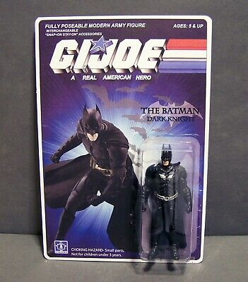 $ CDN78.40 • Buy Custom GI Joe Figure And Package Of  Bruce Wayne  BATMAN  Dark Knight