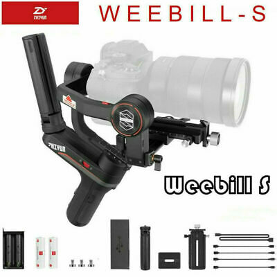 AU480 • Buy Zhiyun Weebill S 3-Axis Gimbal Stabilizer For DSLR & Mirrorless Cameras AU Post