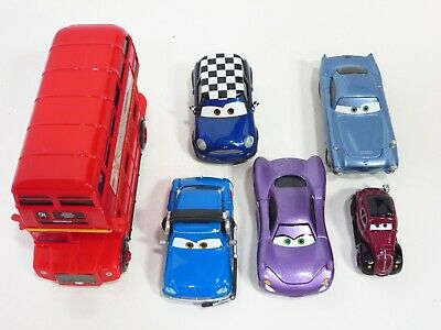 $ CDN48.48 • Buy Disney Pixar Cars 2 Double Decker Bus London Spy London Calling Escape Set
