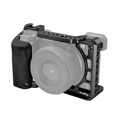 $ CDN48.33 • Buy SmallRig Aluminum Alloy Cage With Silicone Handle For Sony A6100/A6300/A6400
