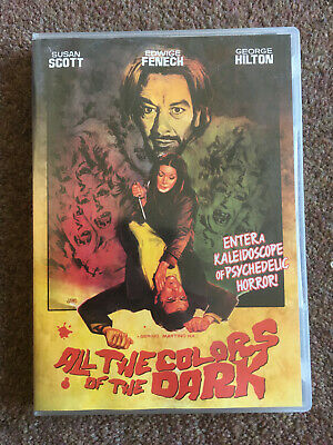 All The Colors Of The Dark (Sergio Martino 1972), OOP R1 Shriek Show Giallo Cult • 11.99£