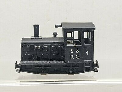 009/HOe Minitrains Repainted S&RG Plymouth Switcher Locomotive-B1986. • 38£