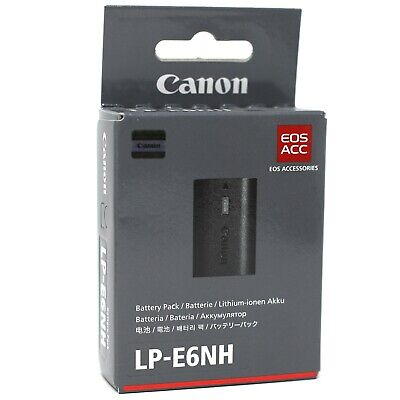 Canon LP-E6NH Original Battery - UK NEXT DAY DELIVERY • 148£