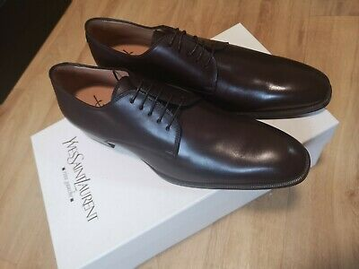 Yves Saint Laurent Edwin Lace Up Formal Leather Shoes Defects • 100£