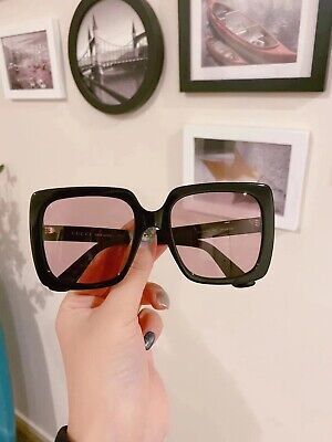 AU399.99 • Buy Brand New AUTHENTIC GUCCI OVERSIZED SUNGLASSES GG0418S RRP:$620