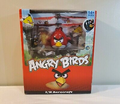 RC Toy Angry Birds I/R Aerocraft Remote Control Flying Helicopter Drone NEW RARE • 30.04£