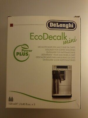 AU16.03 • Buy Delonghi Descaler EcoDecalk Mini 2 X 100ml For Coffee Machines New Boxed