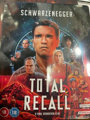 Total Recall 4k Steelbook  New Release! • 34.99£