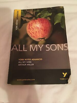 All My Sons: York Notes Advanced By Arthur Miller (Paperback, 2007) • 1.10£