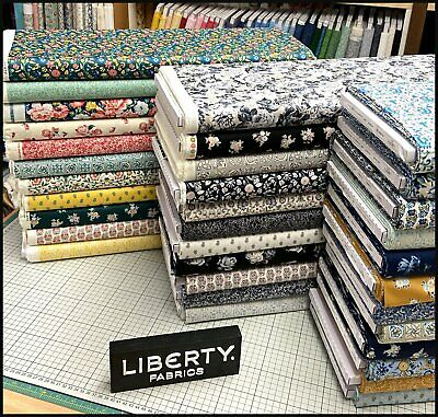 £8 • Buy *new* - Liberty Of London- The Emporium Collection 100% Cotton Fabric - Quilting
