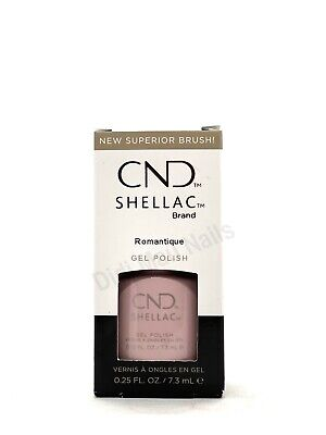 AU17.57 • Buy CND Shellac UV Gel Polish .25 Oz - Romantique