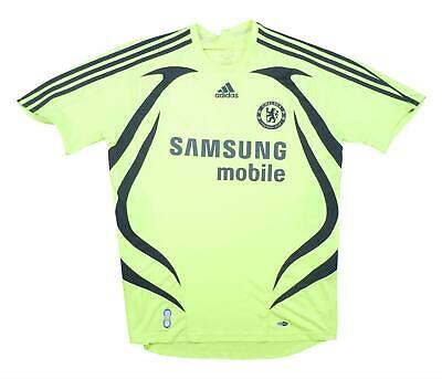 Chelsea 2007-08 Authentic Away Shirt (Excellent) M Soccer Jersey • 31.49£