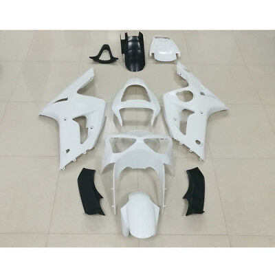 $354.35 • Buy Unpainted ABS Injection Mold Fairing For Kawasaki NINJA ZX-6R ZX636 2003 2004