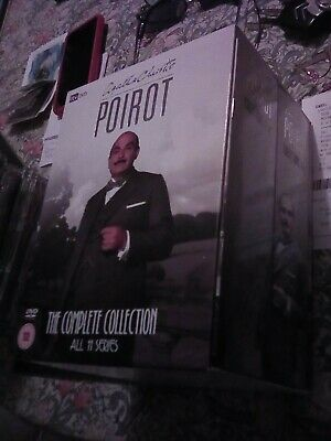 Agatha Christie. Poirot. The Complete Collection.  11 Series. Dvd Box Set.... • 50£