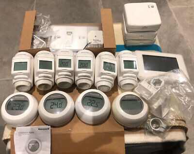 Honeywell Evohome Wireless Set Hr924uk Bdr91t1004 Y87rf2024 Atf600 Atc928g3000 • 112£