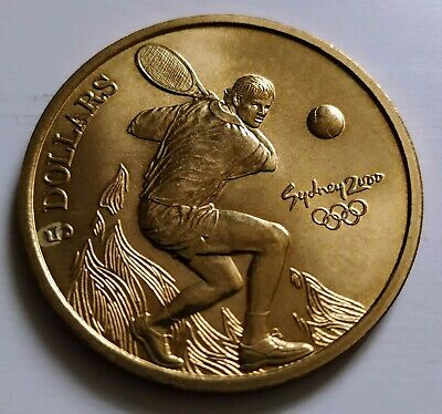 Sydney Olympic Games 2000 Australia Collectable $5 Five Dollars Coin: Tennis • 4.99£
