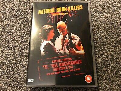 Natural Born Killers - Dvd (oliver Stone) Special Edition Full Directors Cut • 1.25£