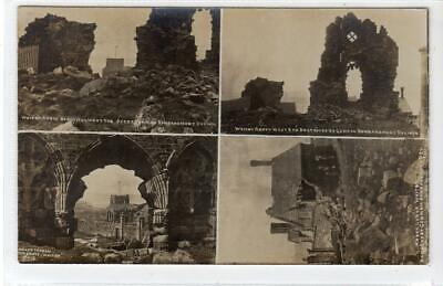 WHITBY ABBEY: Yorkshire Multiview Postcard By Ross (C55121) • 14.95£