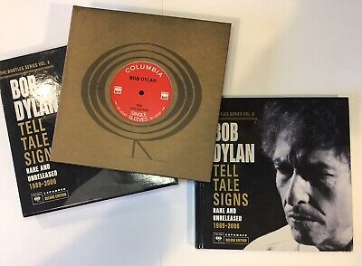 Bob Dylan The Bootleg Series Volume 8 Tell Tale Signs Deluxe Expanded Edition • 200£