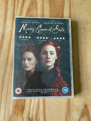 Mary Queen Of Scots DVD 2017 New And Sealed Margot Robbie Saoirse Ronan • 1.50£