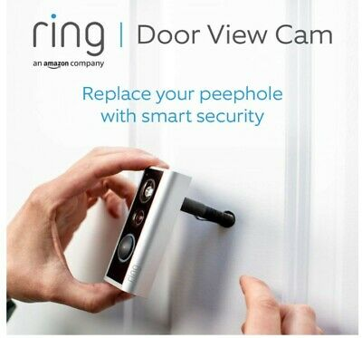 New - Ring Door Video Doorbell That Replaces Your Peephole With 1080p Cam  • 79£
