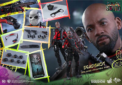 $ CDN449.99 • Buy Hot Toys Deadshot 1/6 Scale Action Figure Special Edition Mms381 Suicide Squad