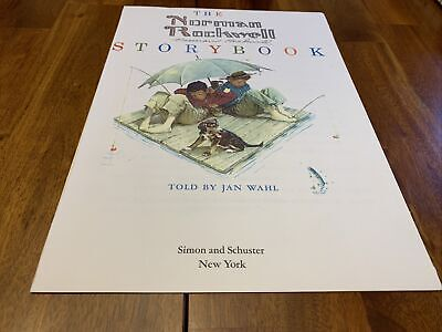 """$ CDN130.34 • Buy Signed Norman Rockwell """"Boy And Dog Fishing"""""""
