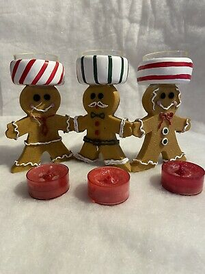 Yankee Candle Gingerbread Men Trio  • 25£