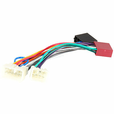$11.99 • Buy Wiring Harness Stereo Radio For Toyota Pioneer Android ISO Head Unit Plug Play
