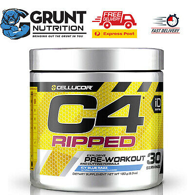 AU53 • Buy Cellucor C4 Ripped 30 Serves Thermogenic Fat Burner, Energy & Weight Loss