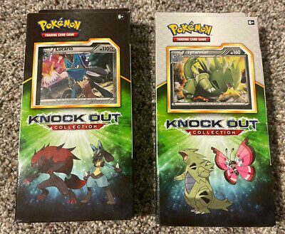 $74.99 • Buy Pokemon TCG Knock Out Collection 2017 Set Of 2 Printed In The USA