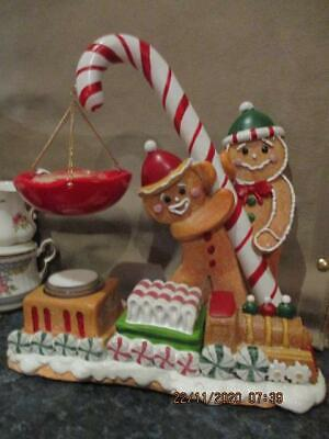 Yankee Candle  CHRISTMAS GINGERBREAD MAN HANGING TART WARMER Retired • 34.99£