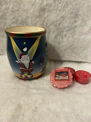 Yankee Candle Christmas Circus Wax Burner. Rare And Retired. • 18.99£