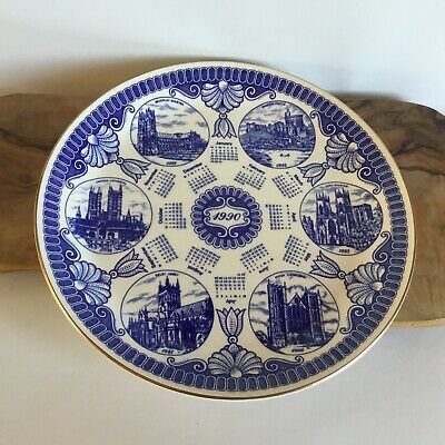 Masons For Ringtons 1990 Calender Collectors Plate Cathedrals & Castles • 0.99£