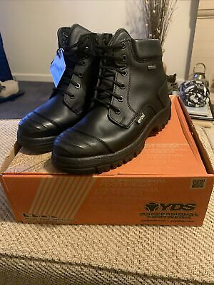 YDS Goliath Safety Boots Size 8 • 35£