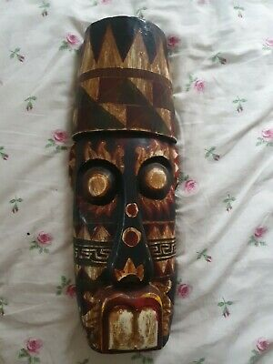 Wooden African Mask • 13£