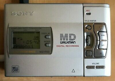 Sony MZ-R50 Minidisc Recorder MD Walkman Boxed With Accessories Fully Working • 80£
